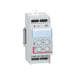 Télévariateur modulaire fonctionnement autonome pour sources incandescentes 60-600W LEGRAND