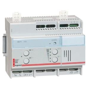 Télévariateur modulaire fonctionnement sur BUS avec reconnaissance automatique de la charge - 1000W - 6 modules LEGRAND