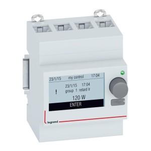 Mini configurateur modulaire EMS CX³ avec écran pour utilisation du système en autonome - 4 modules LEGRAND