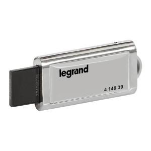 Logiciel Energie Manageur pour 32 adresses MODBUS ou 32 compteurs impulsionnels - livré sous clé de licence LEGRAND
