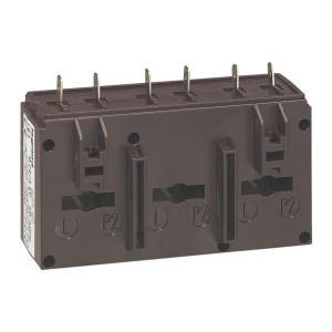 Transformateur de courant triphasé 250/5 - 3VA - pour 3 barres 20,5x5,5mm LEGRAND