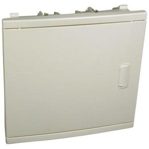 Coffret encastré 1 rangée 12+2 modules - avec porte isolante galbée blanche LEGRAND