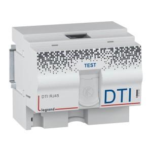 DTI modulaire RJ45 pour coffret multimédia - 4,5 modules LEGRAND