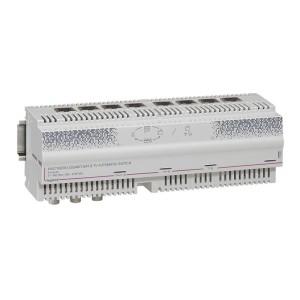 Centrale automatique Gigabit télévision câble satellite 8 sorties RJ45 - 12 modules LEGRAND