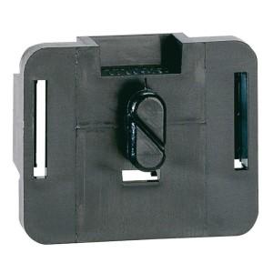 Accessoire fixation Linafix isolant pour maintien des goulottes sur rails symétrique et asymétrique prof. 15mm LEGRAND