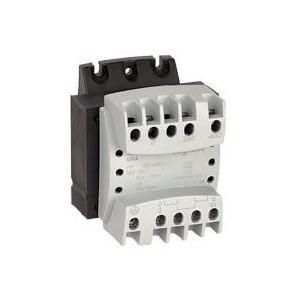 Transformateur de sécurité - 63 VA - prim 230V à 400V/sec 12V~ à 24V~ LEGRAND