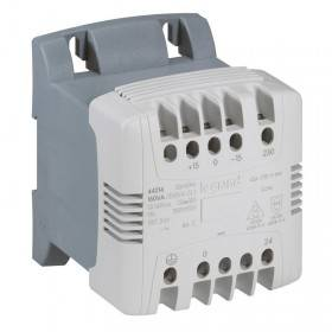 Transformateur de commande et signalisation - 40 VA - connexion vis - prim 230V à 400V/sec 24V~ LEGRAND