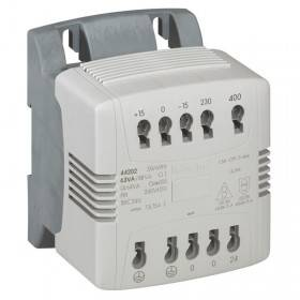 Transformateur de commande et signalisation - 40 VA - connexion auto - prim 230V à 400V/sec 230V~ LEGRAND