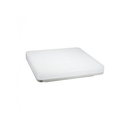 Plafonnier LED carré blanc 15W 4000°K VISION EL