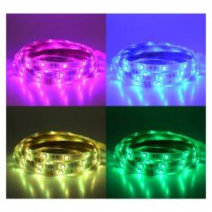 Bandeau LED RGB 5m 30 LED/m 36W IP20 - 24V VISION EL