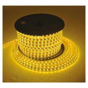 Bobine LED 3000°k 50 mètres 8W/m 230V IP65 VISION EL