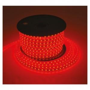Bobine LED rouge 50 mètres 8W/m 230V IP65 VISION EL