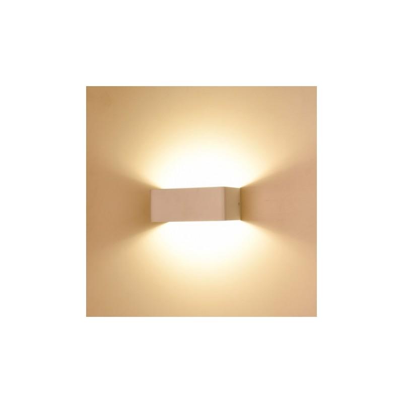 Applique murale LED 100x80x200 - blanc 6W 3000°K VISION EL