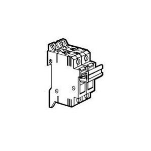 Coupe-circuit sectionnable SP38 1P+N équipé - pour cartouche 10x38mm LEGRAND