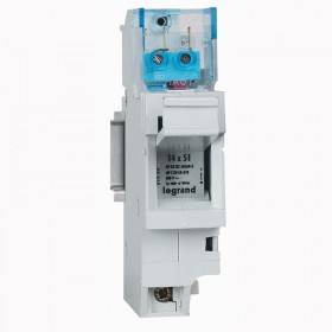 Coupe-circuit sectionnable SP51 1P avec microrupteur - pour cartouche 14x51mm LEGRAND