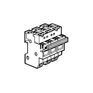Coupe-circuit sectionnable SP58 3P avec microrupteur - pour cartouche 22x58mm LEGRAND