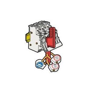 Plaque de sécurité pour coupe-circuit sectionnable SP51 et SP58 LEGRAND