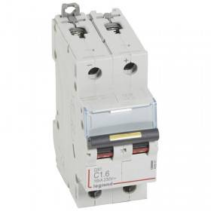 Disjoncteur DX³ 16kA courant continu 1,6 A courbe C - 2 modules LEGRAND