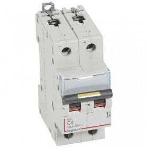 Disjoncteur DX³ 16kA courant continu 4A courbe C - 2 modules LEGRAND