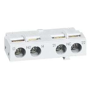 Contact auxiliaire 1NO et 1NF pour disjoncteur moteur MPX³ - montage frontal LEGRAND