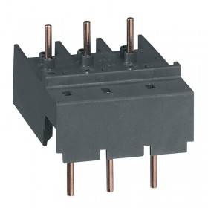 Adaptateur pour raccordement disjoncteur moteur MPX³32S avec contacteur CTX³ mini CA LEGRAND