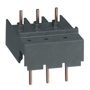 Adaptateur pour raccordement disjoncteur moteur MPX³32H et MPX³32MA avec contacteur CTX³ mini CC LEGRAND