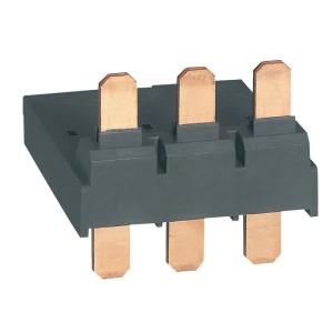 Adaptateur pour raccordement disjoncteur moteur MPX³63H avec contacteur CTX³65 CA bornes à cage LEGRAND