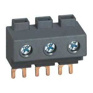Bornier d'alimentation 32A pour peigne disjoncteurs moteurs MPX³32 LEGRAND