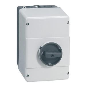 Boîtier IP65 pour disjoncteur moteur MPX³32H et MPX³32MA LEGRAND