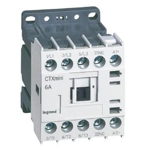 Mini-contacteur CTX³ 3 pôles 6A 1NF - tension de commande 110V~ LEGRAND