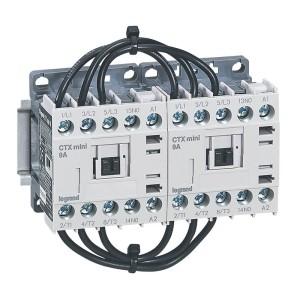 Mini-contacteur CTX³ 3 pôles 9A 1NO - tension de commande 230V~ LEGRAND