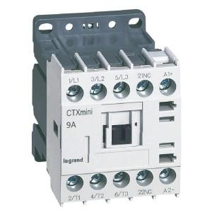 Mini-contacteur CTX³ 3 pôles 9A 1NF - tension de commande 24V LEGRAND