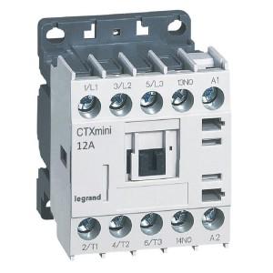 Mini-contacteur CTX³ 3 pôles 12A 1NO - tension de commande 24V~ LEGRAND