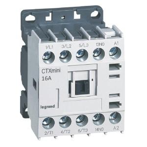 Mini-contacteur CTX³ 3 pôles 16A 1NO - tension de commande 110V~ LEGRAND