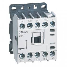 Mini-contacteur CTX³ 3 pôles 16A 1NO - tension de commande 415V~ LEGRAND