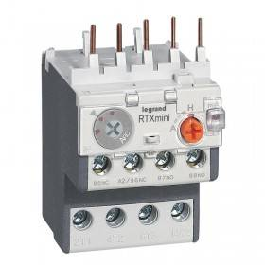 Relais thermique RTX³ - 4A - pour CTX³ 3 pôles - avec contact auxiliaire intégré 1NO et 1NF LEGRAND