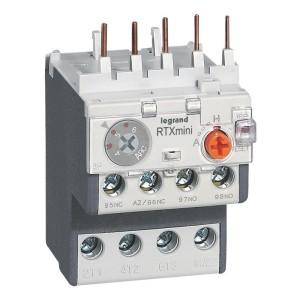 Relais thermique RTX³ - 6A - pour CTX³ 3 pôles - avec contact auxiliaire intégré 1NO et 1NF LEGRAND