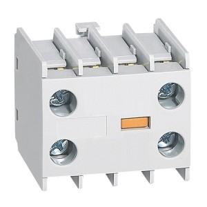 Bloc de contacts auxiliaires - montage frontal - 1NO et 1NF - pour mini-contacteurs CTX³ LEGRAND