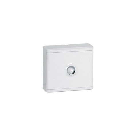 Habillage + porte blanche pour platines de branchement DRIVIA - Blanc RAL 9003 LEGRAND