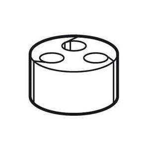Joint à entrées multiples pour presse-étoupe ISO25 ou PG21 LEGRAND