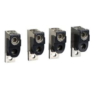 Bornes pour câbles 2x50..120mm² et sépar. phases - pour NSX100-250 INV/INS SCHNEIDER