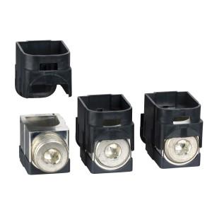 Bornes aluminium - 250A - Lot de 3 - pour câbles 120 à 185mm² SCHNEIDER