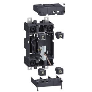 Kit compact débrochable 2P(3P) sur socle - pour disj. NSX100-250 SCHNEIDER
