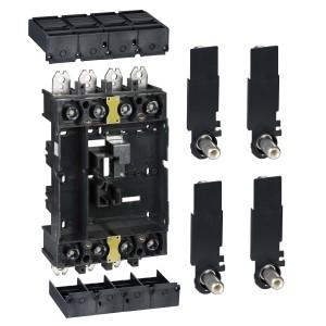 Kit Vigicompact débrochable 4P sur socle - pour disj. NSX100-250 SCHNEIDER