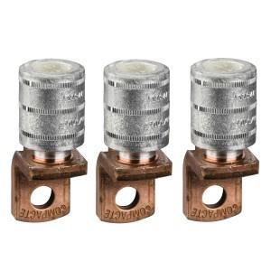 Cosses à sertir câble alu. 185mm² - sépa. phases - Lot de 3 - NSX100-250 INV/INS SCHNEIDER