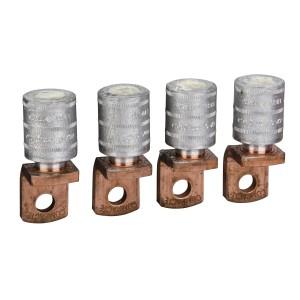 Cosses à sertir câble alu. 185mm² - sépa. phases - Lot de 4 - NSX100-250 INV/INS SCHNEIDER