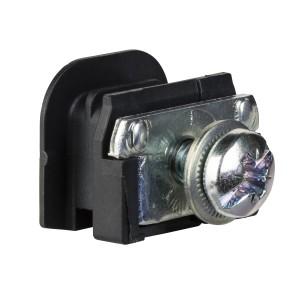 Écrou clipsable M6 pour NSX100N/H/L - Lot de 12 SCHNEIDER