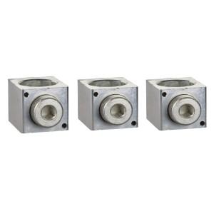 Borne pour câbles 35..300mm² et sépar. de phases - Lot de 3 - pour NSX400-6300 INV/INS SCHNEIDER