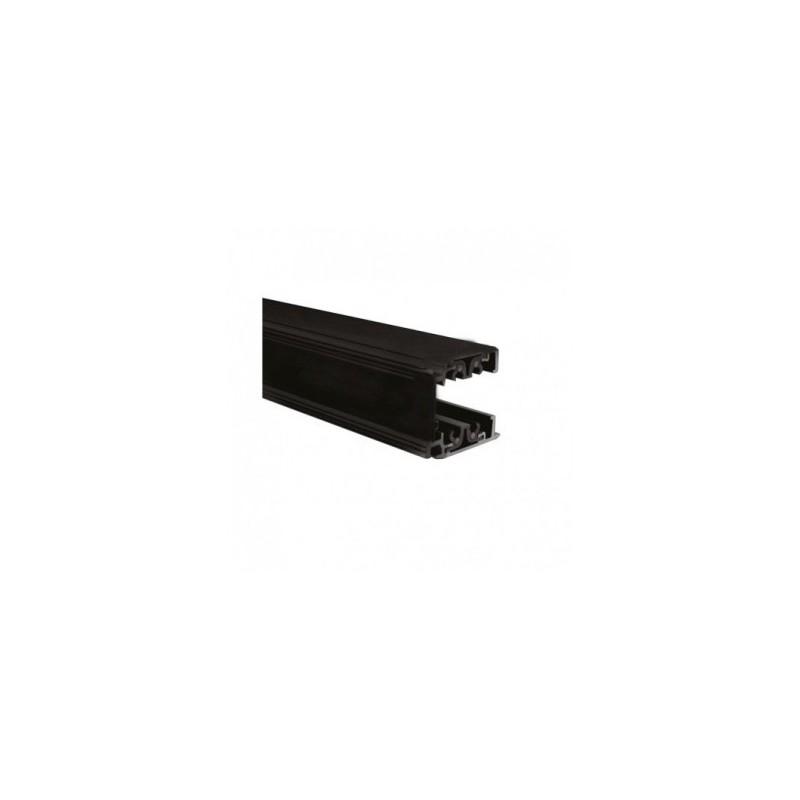 Rail triphasé pour spots LED noir 1m VISION EL