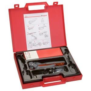 Pince à sertir Starfix pour embouts en bandes sections 0,5 à 2,5mm² - mallette avec embouts LEGRAND